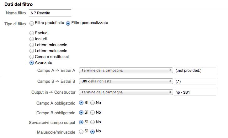 GoogleAnalytics_Filtro_NPRewrite